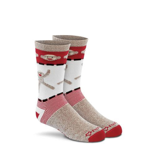 Monkey Cartwheel Kid's Crew Socks