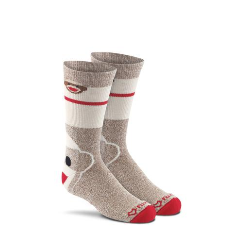 Monkey Face kids'crew socks
