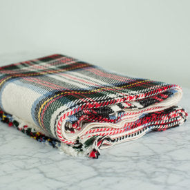 Dress Stewart Cotton Fringed Throw