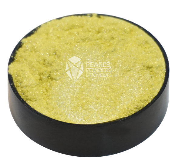 Lemon Yellow Pearl Powder Pigment