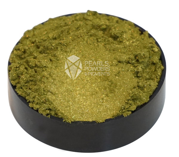 Olive Honey Pearl Powder Pigment