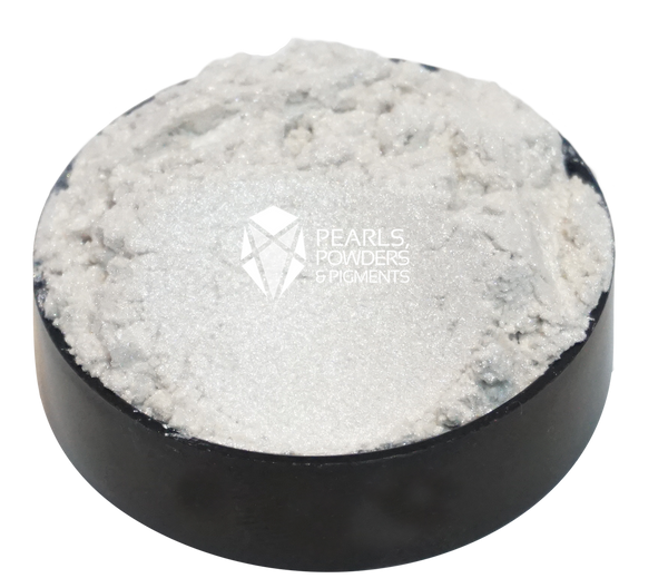Silver Ghost Interference Chrome Pearl Powder Pigment