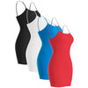 Plain Basic Cami Cotton Tank Top 2-Pack - Many Colors List 2