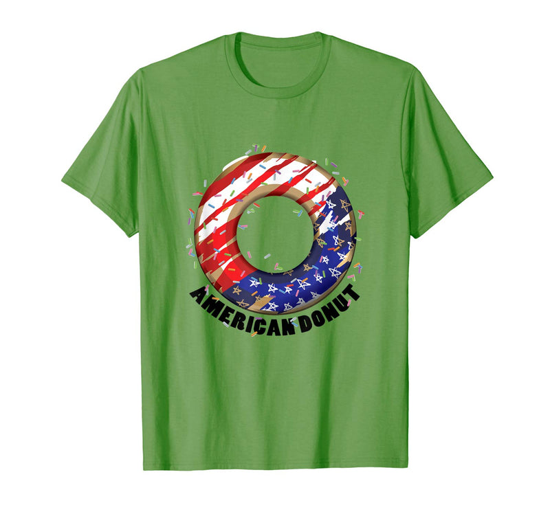 American Donuts July 4th Independence Day T-Shirt (NOT SOLD OUT - AVAILABLE ON AMAZON)