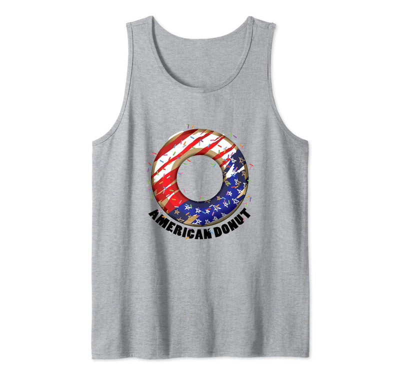 American Donuts July 4th Independence Day Tank Top (NOT SOLD OUT - AVAILABLE ON AMAZON)
