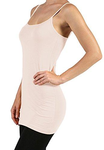 Plain Basic Cami Cotton Tank - Top Many Colors