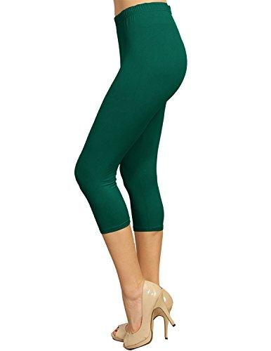Solid Brushed Capri - VP103-Hunter Green