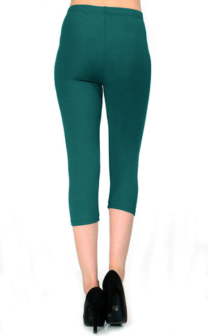 Solid Brushed Capri - VP103-Teal Green