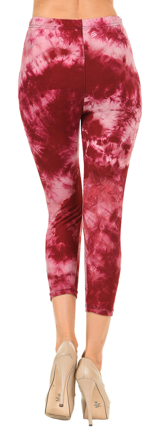 Tie Dye Capris - Heart Broken - VIV Collection