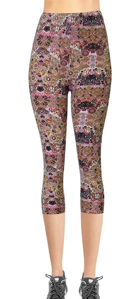 Printed Capris Leggings - Hive Party