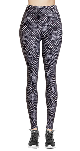 Printed Capris Leggings (Digital Print) - Sleek Lightning