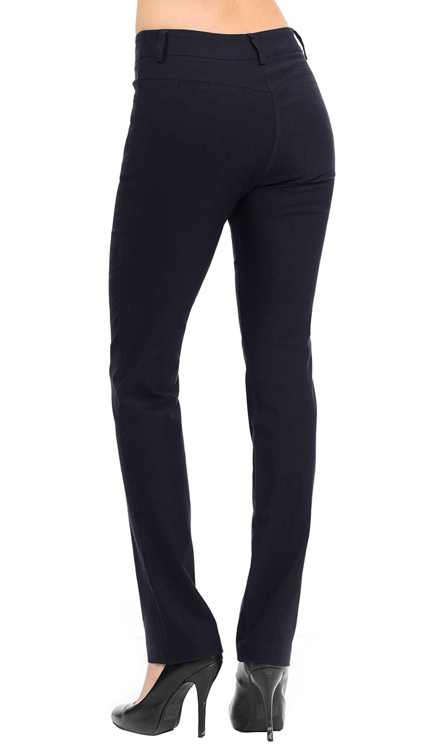 NEW Women's Straight Fit Long Trouser Pants