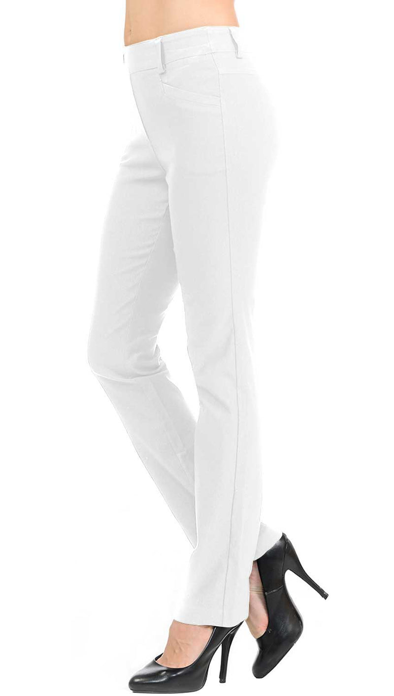 Women's Straight Fit Long Trouser Pants