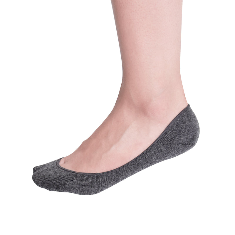 VIV Collection Women's 3 & 6 Pack No Show Socks Low Cut Non Slip