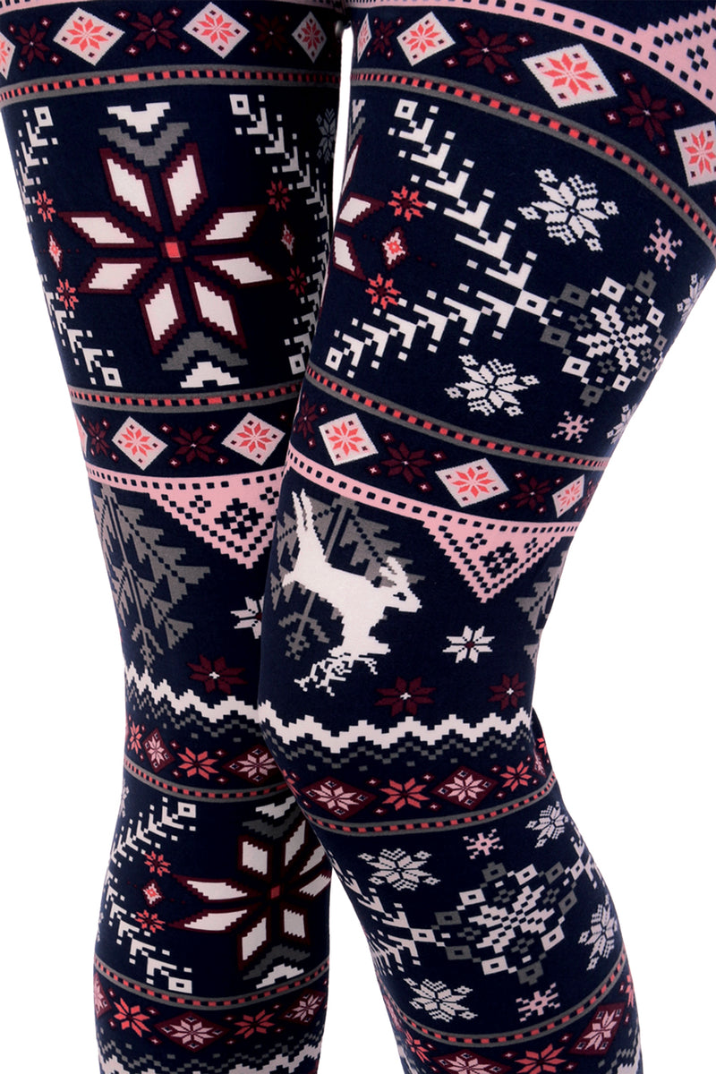 de71581cb9fbc Printed Brushed Leggings - Christmas Winter Tree – VIV Collection