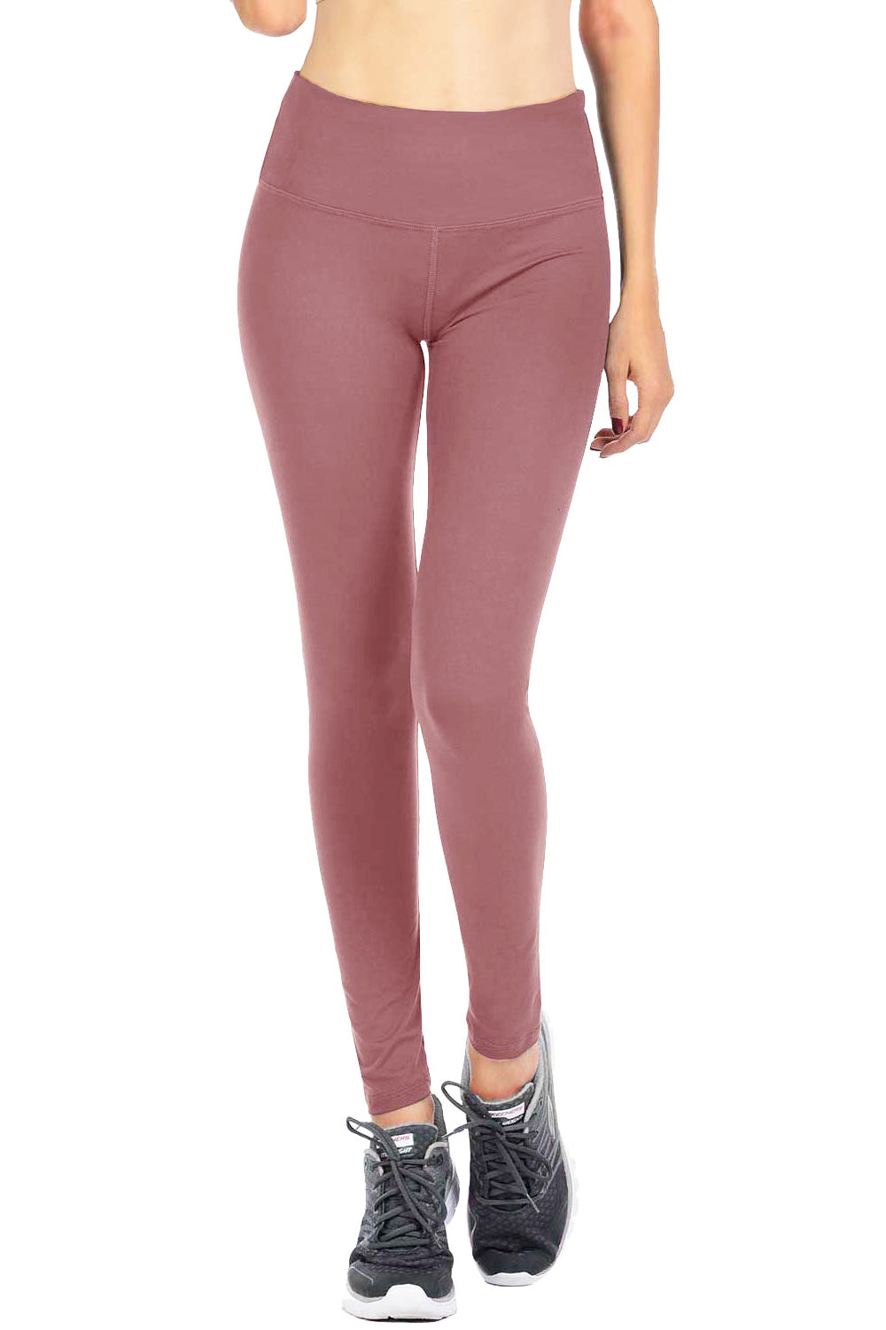 VIV Collection NEW YOGA MID Waistband w/ Hidden Pocket