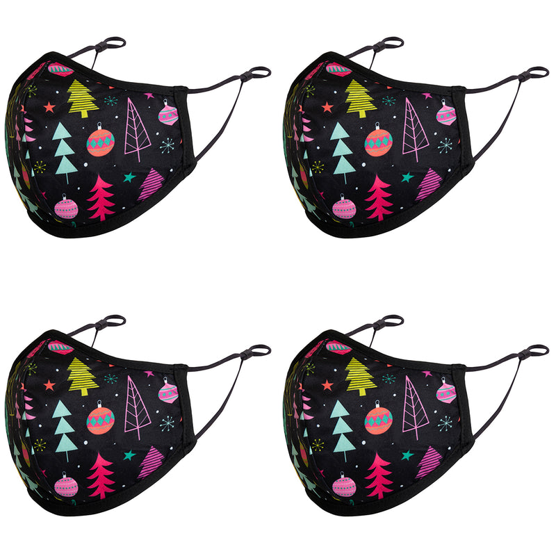 Mask 3-Layer Fashion Design Print Cloth Face Mask