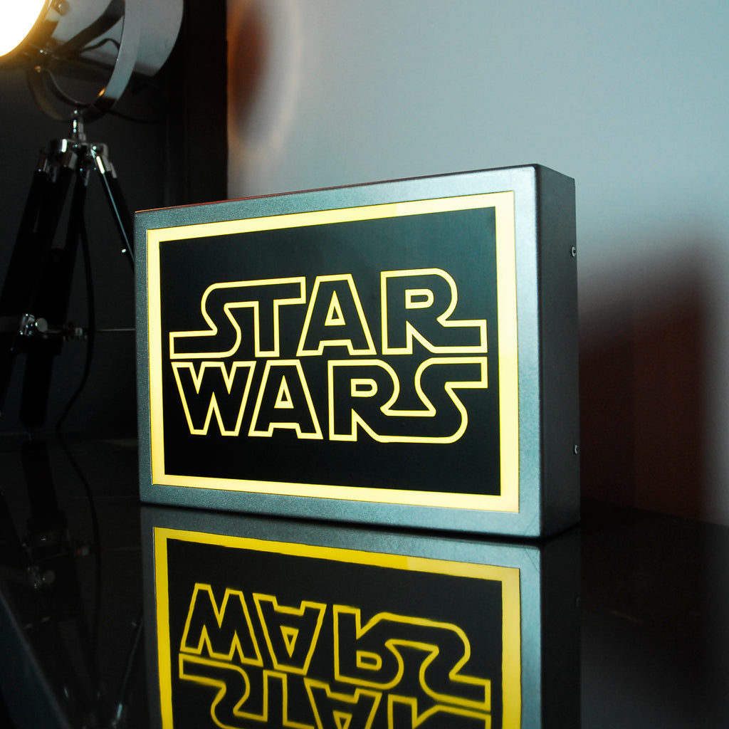 300 x 205mm (A4) STAR WARS LED Lightbox - Bob Cool