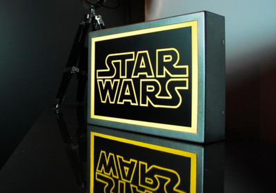 Star Wars LED Lightbox
