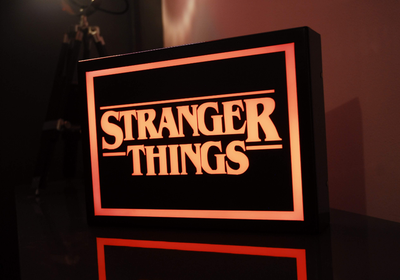 Stranger Things LED Lightbox