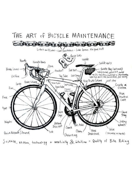 Art of Bike Maintenance (Grey)