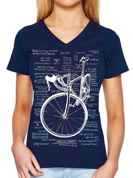 COG Therapy Womens V Neck SS Tee