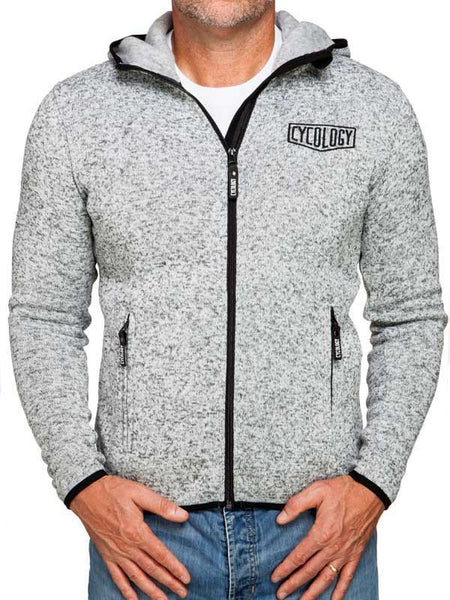 Cycology Mens Knitted Hoodie