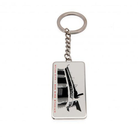A.C. Milan Keyring SS - Sports Memorabilia | Sports Fan Gear | Absolute Sport Fan Shop