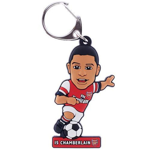 Arsenal F.C. PVC Keyring Oxlade-Chamberlain - Sports Memorabilia | Sports Fan Gear | Absolute Sport Fan Shop