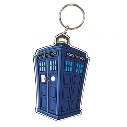 Doctor Who Keyring Tardis
