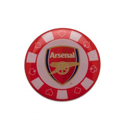 Arsenal F.C. Poker Chip Badge - Sports Memorabilia | Sports Fan Gear | Absolute Sport Fan Shop