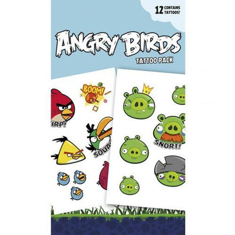 Angry Birds Tattoo Pack