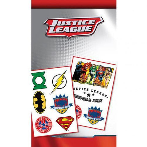 DC Comics Tattoo Pack Justice League