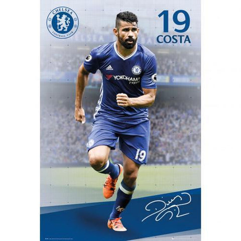 Chelsea F.C. Poster Diego Costa 19