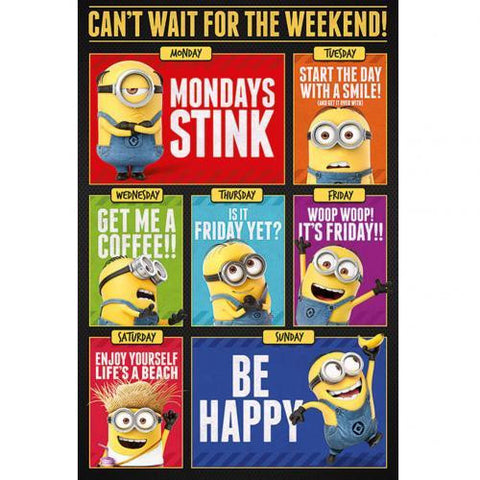 Despicable Me 3 Poster Weekend 203