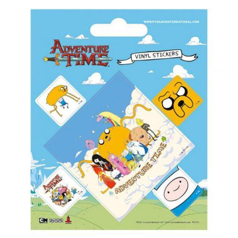 Adventure Time Stickers - Sports Memorabilia | Sports Fan Gear | Absolute Sport Fan Shop