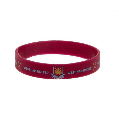West Ham United F.C. Silicone Wristband