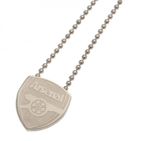 Arsenal F.C. Stainless Steel Pendant & Chain