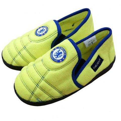 Chelsea F.C. Neon Slippers Junior 12-13