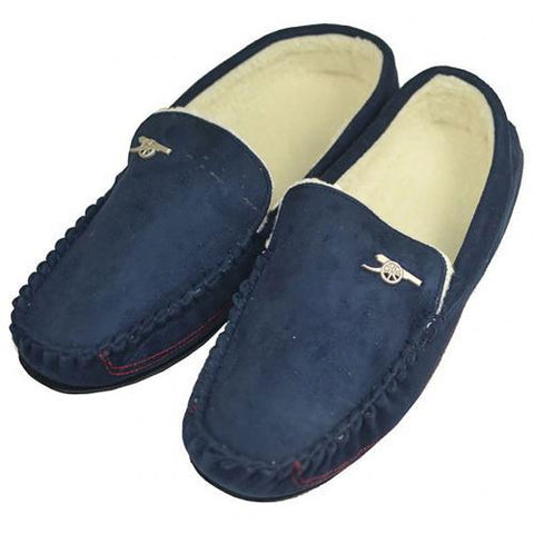 Arsenal F.C. Mens Moccasins 9-10 NV