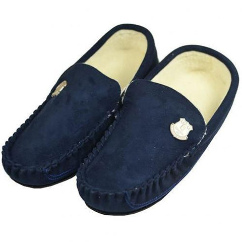 Everton F.C. Mens Moccasins 7-8 NV