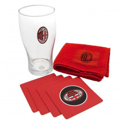 A.C. Milan Mini Bar Set - Sports Memorabilia | Sports Fan Gear | Absolute Sport Fan Shop