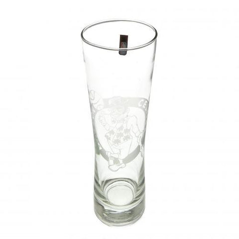 Boston Celtics Tall Beer Glass