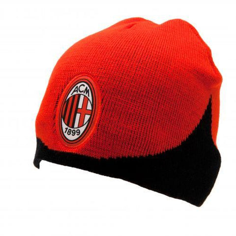 A.C. Milan Knitted Hat WN - Sports Memorabilia | Sports Fan Gear | Absolute Sport Fan Shop