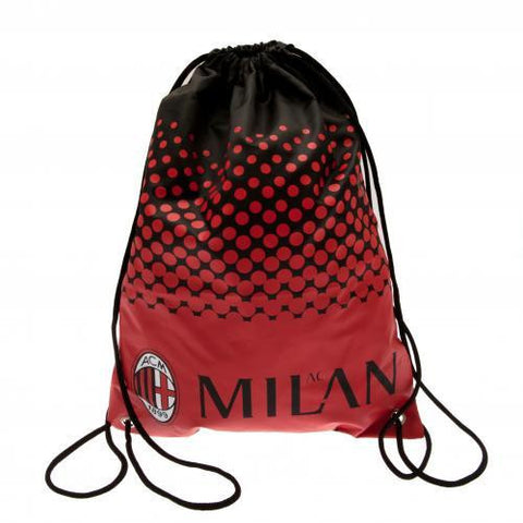 A.C. Milan Gym Bag - Sports Memorabilia | Sports Fan Gear | Absolute Sport Fan Shop