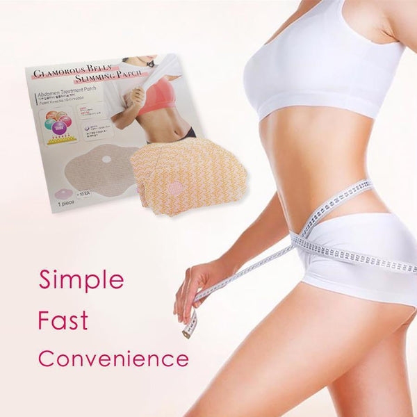 [2-Pack] Glamorous Belly Slimming Patch FB