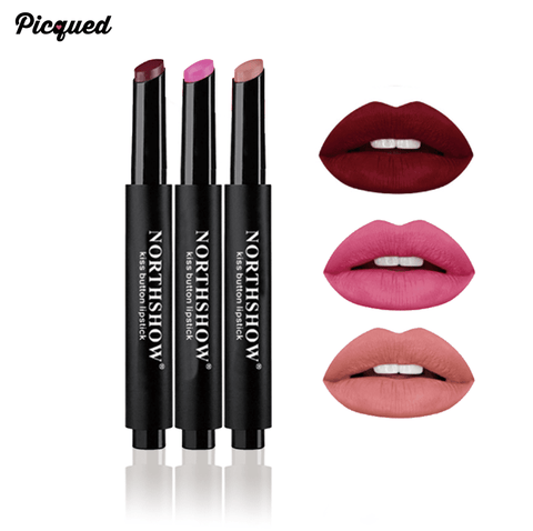 Kiss Button Matte Lipstick