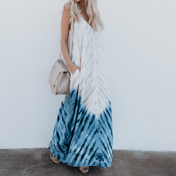 Layla Loose Pocket Maxi Dress