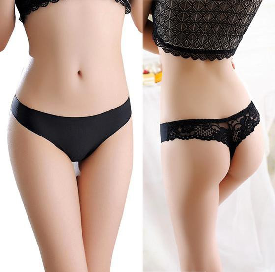 Seamless String Thongs