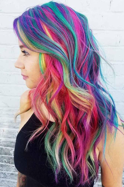 Rainbow Hair Mascara